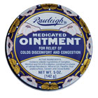 Rawleigh Medicated Ointment for colds and discomfort
