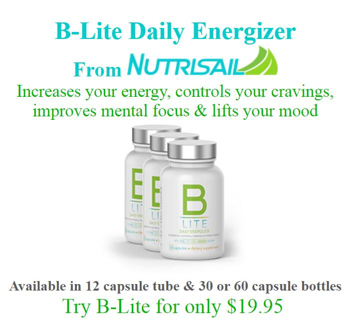 B-Lite Classic Daily Energizer From Nutrisail