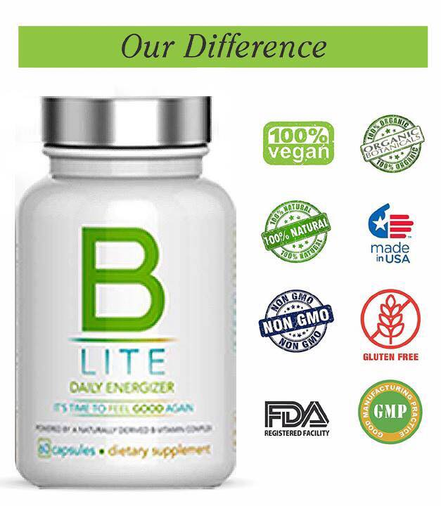 b lite vitamins, b lite daily energizer, b lite pills, nutrisail products
