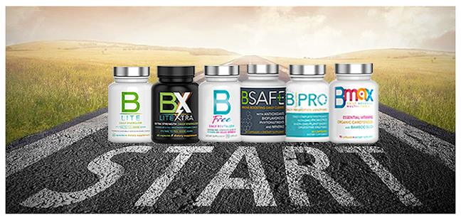 Nutrisail B Products all six products