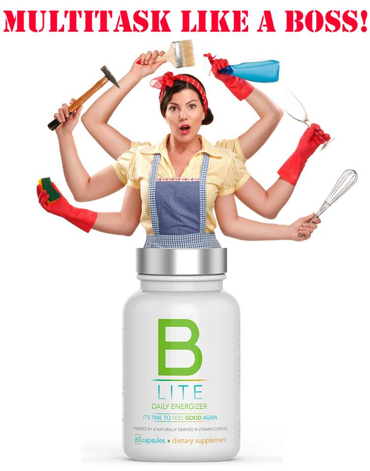 Multi Task Easier With B-Lite Daily Energizer