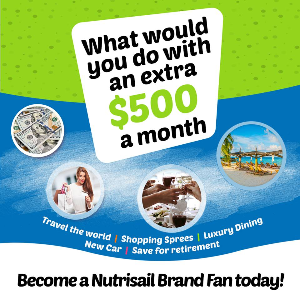 Nutrisail Home Business Opportunity Works!