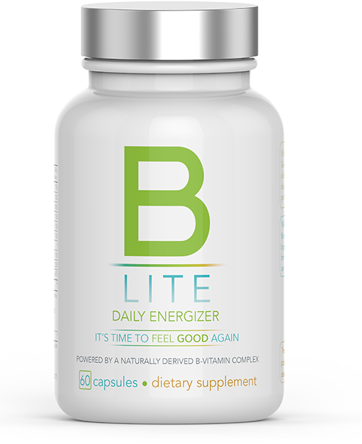 Nutrisail B-Lite Daily Energizer, increases mental clarity, mood, energy. Decreases cravings