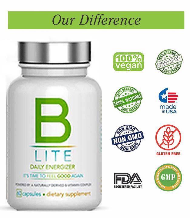 b lite vitamins, b lite daily energizer, b lite pills