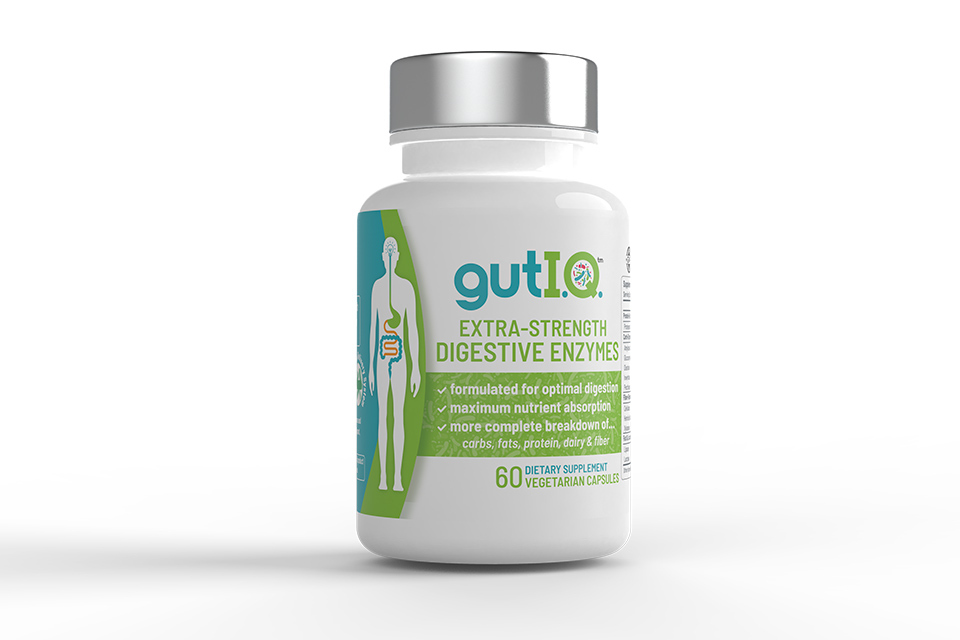 Gut IQ Extra Strength Digestives Enzymes Try It Today