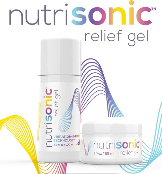 Nutrisail Nutrisonic Relief Gel From Nutrisail